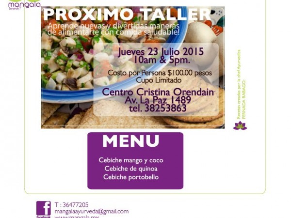 taller ceviches